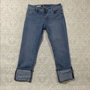 Kut from the Kloth Cameron straight leg crops